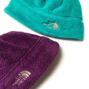 North Face Kids beanies